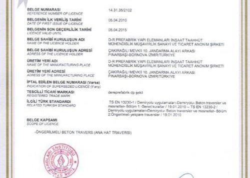 dere-prefabrik-sertifikalar-tse-uygunluk